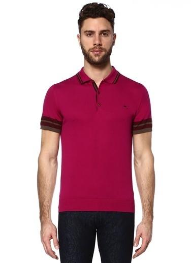 Etro Polo Yaka Tişört Pembe
